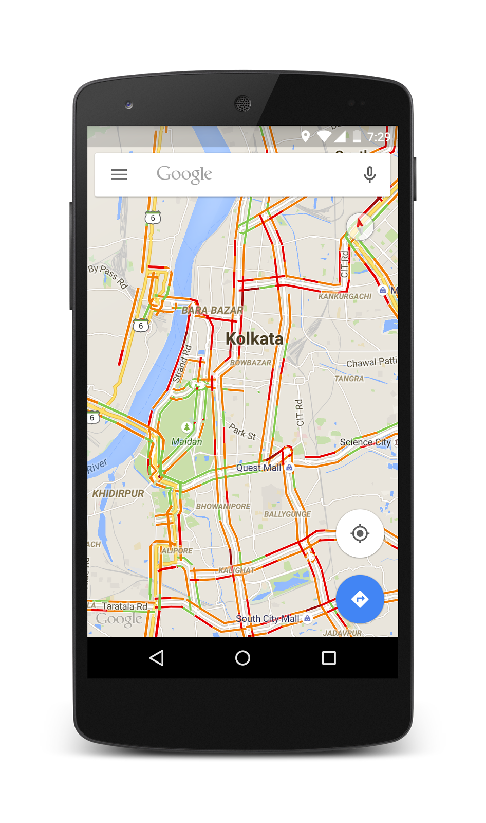 Google Maps Live Traffic Data Comes To Nagpur – NagpurTech on google maps the world live, google current traffic, 3d google earth live, google maps traffic cameras, google india map with city,